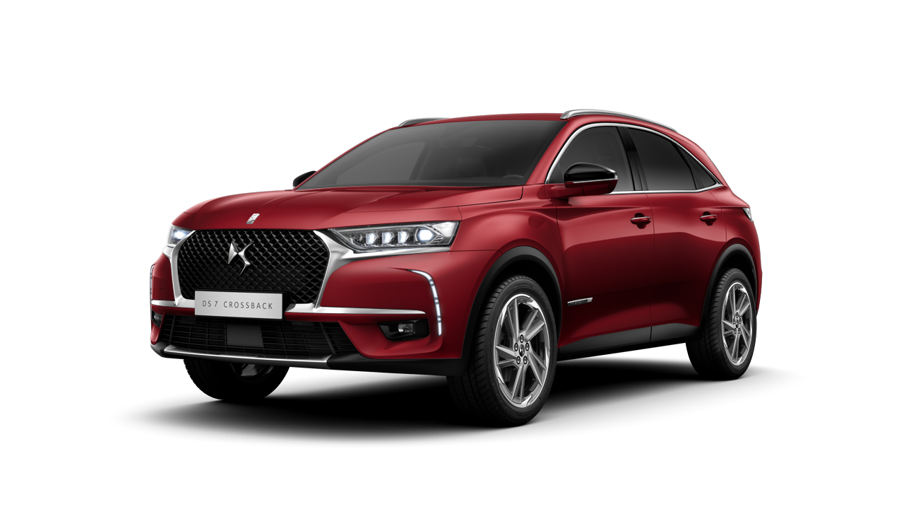 DS 7 CROSSBACK Chic Rouge Absolu jante Roma
