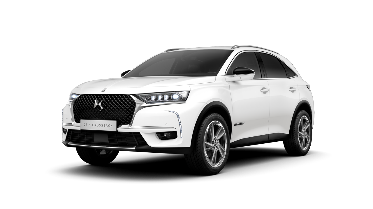 DS 7 CROSSBACK blanc banquise jante Roma